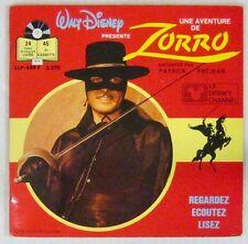 Walt Disney 45 tours Zorro Patrick Préjean 1985