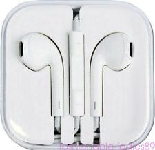 Volume Control Mic White Headphone Earphone for iPhone 6 6S Plus 5 5S 4 4S HOT
