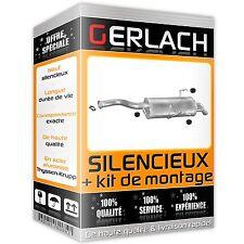 Pour Peugeot 607 2.0 2.2 HDi 1999-2006 silencieux arriere 561