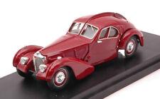 Bugatti 57 sc atlantic 1938 rosso economica small box modellino scala 1:43 rio