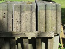 Reclaimed/Second-hand Concrete Marley Double Roman Roofing Tiles Grey / Granular
