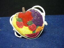 Just The Right Shoe Fruity Matching Purse 25321 Miniature Collectables