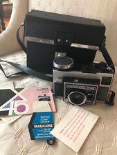 VINTAGE KODAK INSTAMATIC X-45  Film Camera with case & inserts