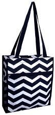 "Chevron Printing 13"" Shopping Bag / Tote Bag / Book Bag / Shopping Tote"