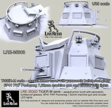 Live Resin 1/35 LRE-35303 TIGER-M Series - Russian SOF Assault Armor Turret