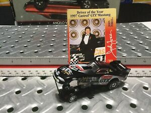 1998 Hasbro Ford Drag Car Castrol GTX Mint W/ Card John Force