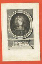 GG69-GRAVURE-18e-MONSIEUR L'ABBE DE SAINT PIERRE-1658-1743