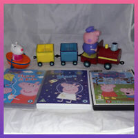 Peppa Pig bundle toys train dvd pc game kids tv show figure