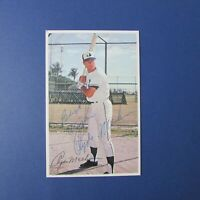 CLYDE MASHORE  1971 Montreal Expos  Pro Stars Postcard Signed Autographed AUTO