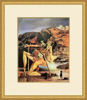 "Salvador Dali ""Spectre of Sex Appeal"" Custom Framed Print FREE SHIP"