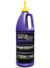 ROYAL PURPLE  MAX GEAR 75W140 GL-5 CON ADDITIVO LSD 946 ML RP01303.