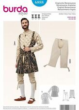Burda Pattern Mens Historical English Renaissance Costume Sz 36-50 EUR46-60