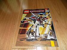 Lego 7714 Exo-Force Golden Guardian Instruction Manual