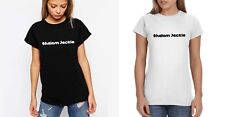 """Friday Night Dinner - Ladies """"Shalom Jackie"""" Tshirts (All Sizes Available)"""