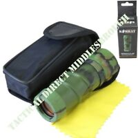 KIDS ARMY CAMOUFLAGE MONOCULAR 8X21 MAGNIFICATION BOYS SOLDIER OUTDOOR PLAY