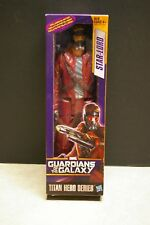 "NEW 2013 HASBRO MARVEL STAR LORD GUARDIANS OF THE GALAXY 11.5"" TITAN HEROES"