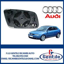 Audi A3 2000 2003 Platte Glas linker Rückspiegel Thermal / Asphärisch