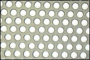 Mild Steel Perforated Sheet 2m x 1m x 1.5mm R6 T9 - 500115054 Bin 32