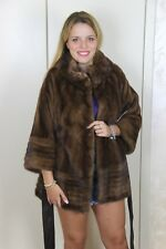 New Mink Jacket Entire Skins Pelliccia Visone Fur Coat Nerz Sable Women Pelz
