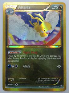 Shiny Altaria 152/149 Boundaries Crossed Secret Rare Pokemon Card - 2012 - LP