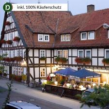 Hessen 4 Tage Wolfhagen Urlaub Hotel zum Schiffchen Reise-Gutschein Wandern