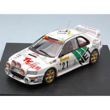 SUBARU IMPREZA N.21 M.CARLO 1998 1:43 Trofeu Auto Rally Die Cast Modellino