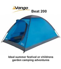 Vango Beat 200 River - Pitch Dome Tent 2 Man - Ideal for Summer Festivals