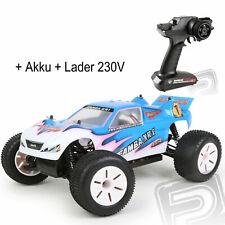 HiMOTO Truggy 1:10 elektro RTR set 2,4GHz blue HMHI2111RC-L 2000 Akku + Lader