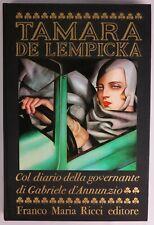Art Deco - Tamara de Lempicka, 1977, (Contains 61 Stunning Tipped in Plates).