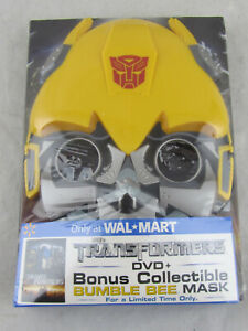 NEW - Transformers Limited Edition DVD w/ Bumble Bee Mask (DVD, 2008) Sealed