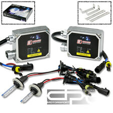 8000K WHITE HID XENON CONVERSION KIT+9006 BULBS LOW BEAMS ONLY+THICK BALLAST