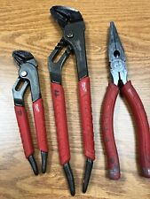 Milwaukee Pliers, Straight Jaw, Needle Nose 48-22-6306, 48-22-63-10 Electrician