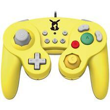 New Hori Nintendo Pokemon Pikachu Switch GameCube Classic Controller USB PC