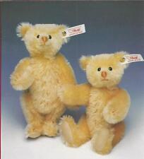 "STEIFF ""TWIN TREASURES"" EAN 665370 REPLICAS OF STRONG MUSEUM  MOHAIR BEARS"