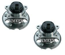 Pair Set of 2 Rear Timken Wheel Bearing Hub Kit for Toyota Sienna 2004-2010 FWD