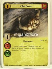 A Game of Thrones LCG - 1x Clan Scout  #067 - A Time for Wolves