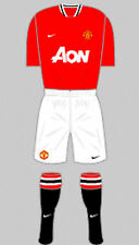 Mens Football Shirt & Socks Kit - Manchester United - Home 2011-12 - Nike - S