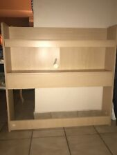 Walmart Children's beige Bookcase. Good condition, slight chipping in middle