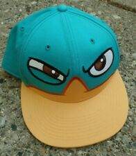 Phineas And Ferb Cap / Perry The Platypus / Snapback Blue/Yellow / Disney