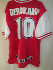 Arsenal 1995-1996 Bergkamp Home  Football Shirt XXL /14347