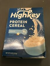 Nouvelle annonce (NEW)HighKey Keto Protein Breakfast Cereal Frosted 8oz Expires 09/2021