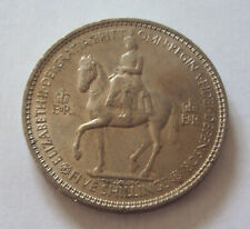 UK 1953 Coronation of Elizabeth II - commemorative coin 5 shillings - UNC
