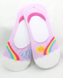 Sock It To Me E8 Women Rainbow No Shows Socks End Of The Raintoes N0002 Choose