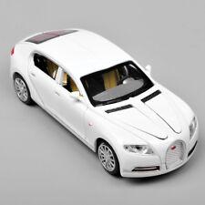 Alloy Diecast 1/32 White Bugatti Veyron 16C Galibier W/lightu0026sound Car  Model Toy