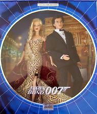 2002 JAMES BOND  007 BARBIE & KEN DOLLS GIFT SET NRFB