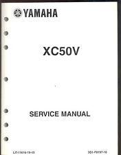 2006 YAMAHA XC50V SCOOTER  MOTORCYCLE SERVICE MANUAL / LIT-11616-19-49