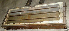 """47"""" x 18"""" Cast Iron T Slotted Steel Table Coolant Type _ 3 T Slots"""