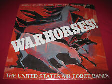 RARE PRIVATE SEALED LP - US AIR FORCE BAND - WARHORSES! - ARNALD D GABRIEL