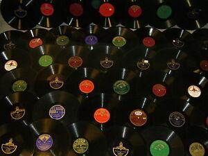 Schallplatten für Grammophon 30 Stück: 20er-40er Jahre, Schellackplatten 78upm++