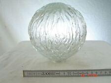 Lampenschirm Glas Ersatzschirm 4 cm Aufnahme 70er Design Bouble 2